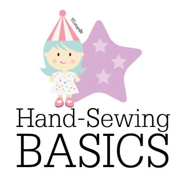 The Running Stitch: Basic stitches to sew your felt toys