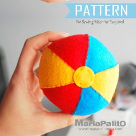 How to Make a Felt Ball Pattern – Free Pattern