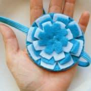 Flower Headband Pattern, Felt Headband Pattern, Headband Tutorial , Pdf Pattern, Sewing Pattern A806