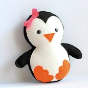 Penguin Pattern, Baby Penguin Sewing Pattern, PDF Penguin plush pattern A315