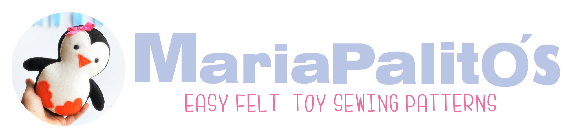 Easy Felt Toys Sewing Patterns by MariaPalito